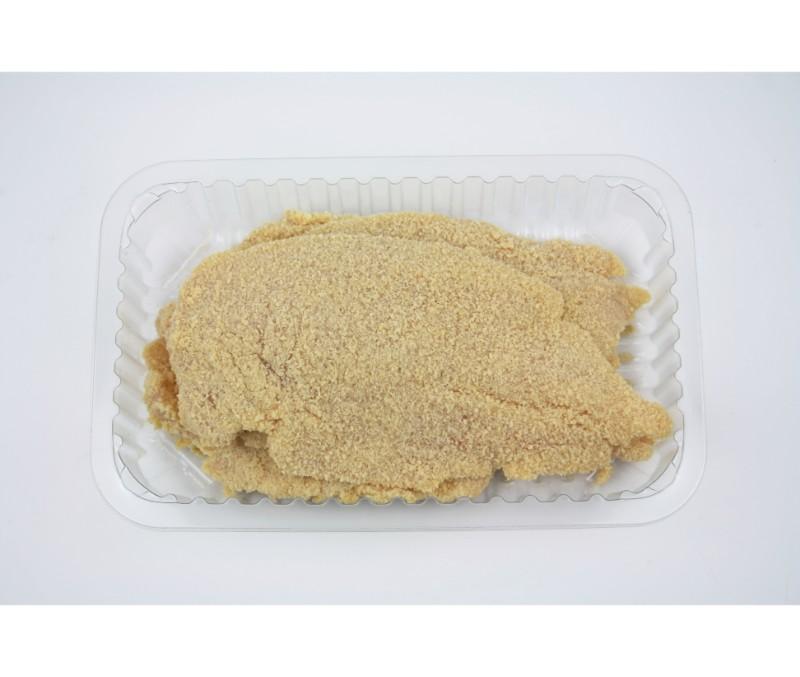Filete de pollo empanado (1 bandeja de 400g aprox.)
