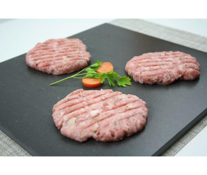 Burger meat de pollo basic (1 caja de 2,5 kg)