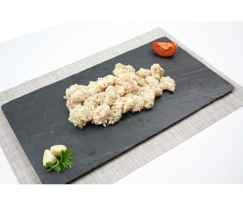 Palomitas de pollo (1 caja de 2,5 kg)