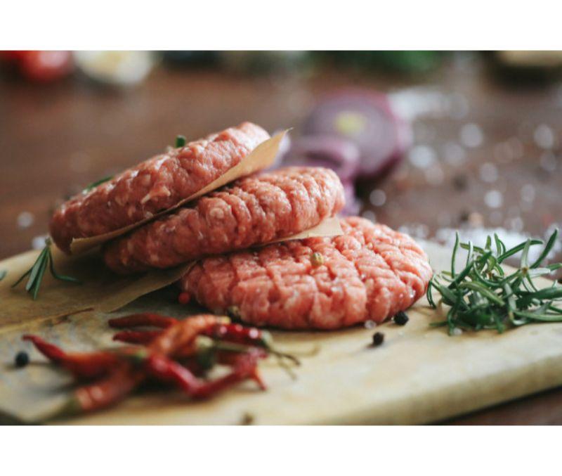 Burger meat 100% pollo 120g (1 bandeja de 2,5 kg)