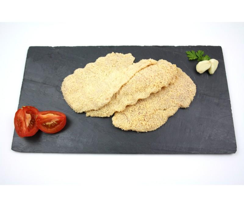 Filete de pollo empanado (1 caja de 2,5 kg)