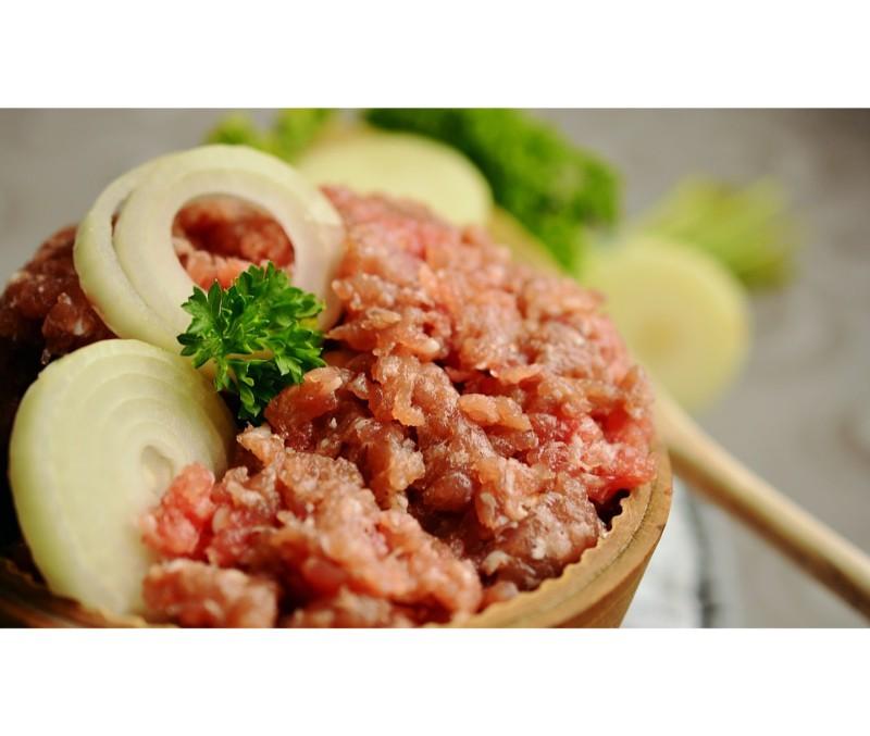 Burger meat mixta picada (1 caja de 5 kg)