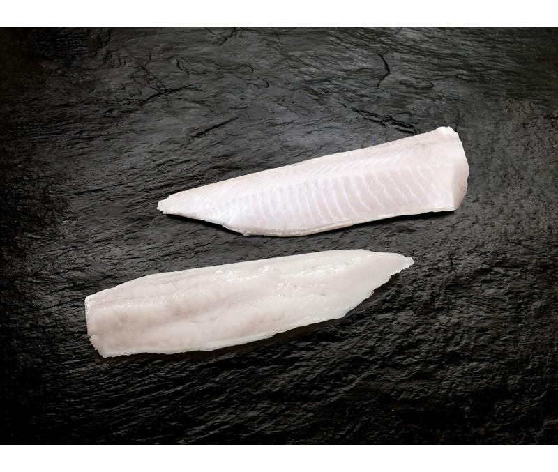 Filete de merluza sin piel 90-130 g/pieza (1 caja de 14 kg)