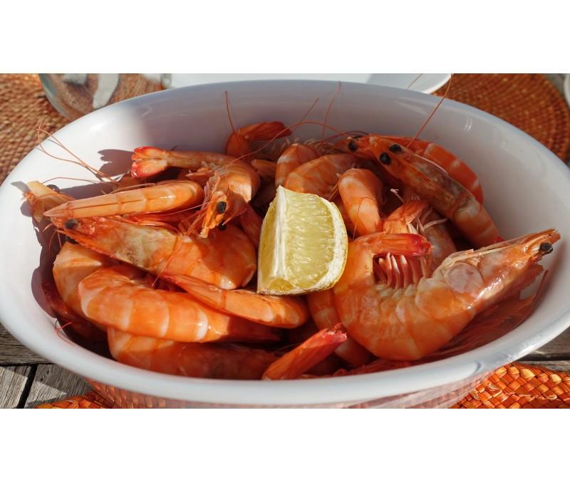 Langostino cocido 40-60 piezas/kg (1 estuche de 2 kg)