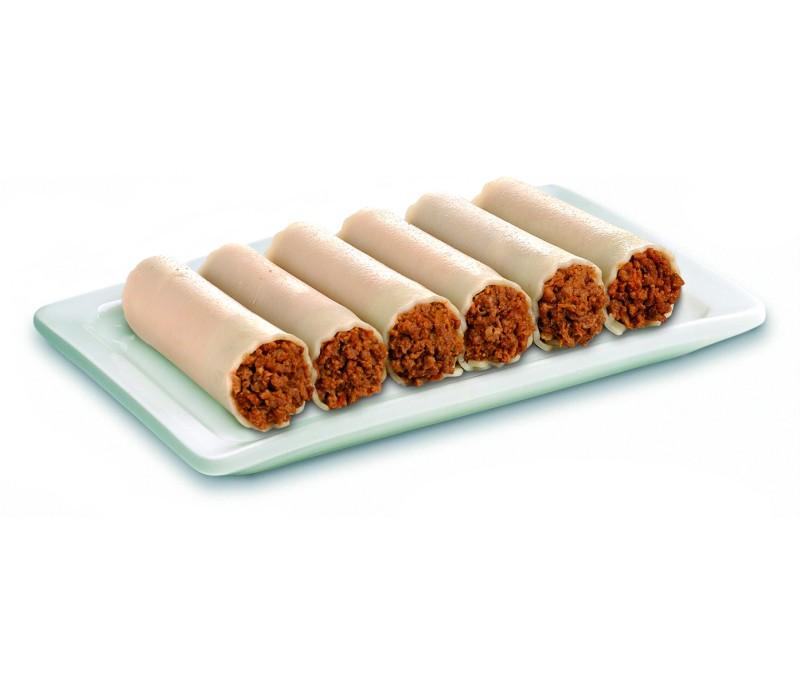Canelón relleno de carne sin bechamel (1 caja de 4 kg)