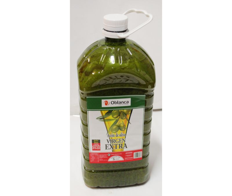 Aceite de oliva virgen extra (3 garrafas de 5l)