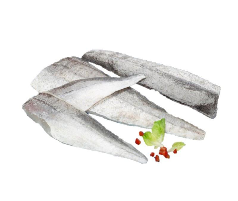 Filete de merluza con piel 170 - 225 g/pieza (1 estuche de 5 kg)