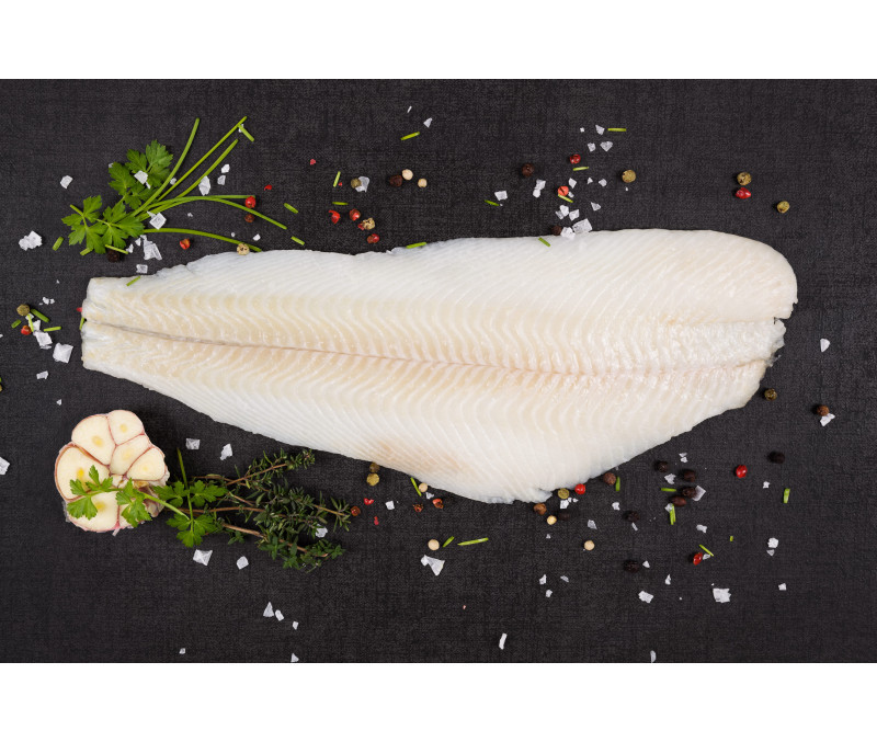 Filete halibut de Alaska (1 caja de 5 kg)
