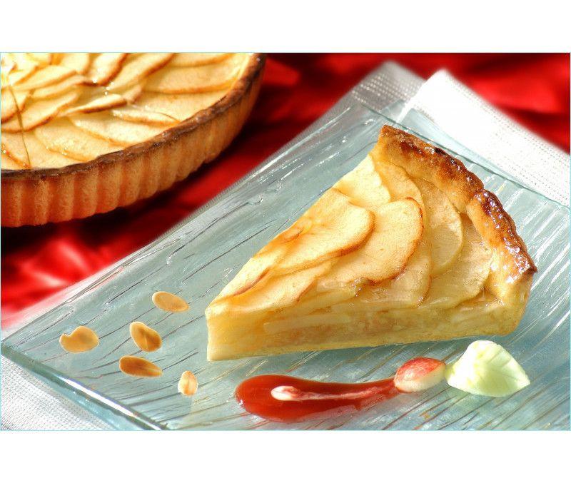 Tarta de manzana precortada (1 caja de 2,25 kg)