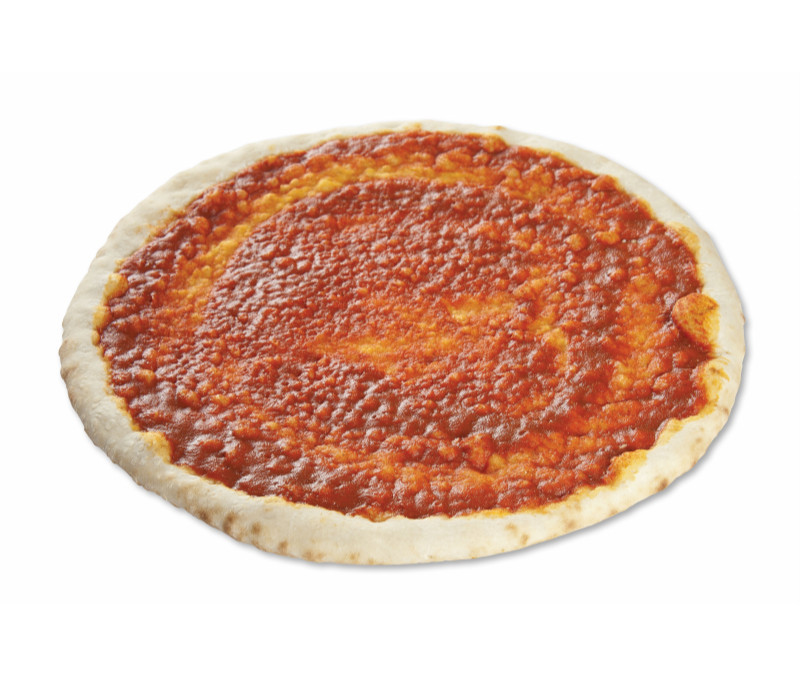 Base de pizza con tomate 29 cm (1 caja de 7 kg aprox.)