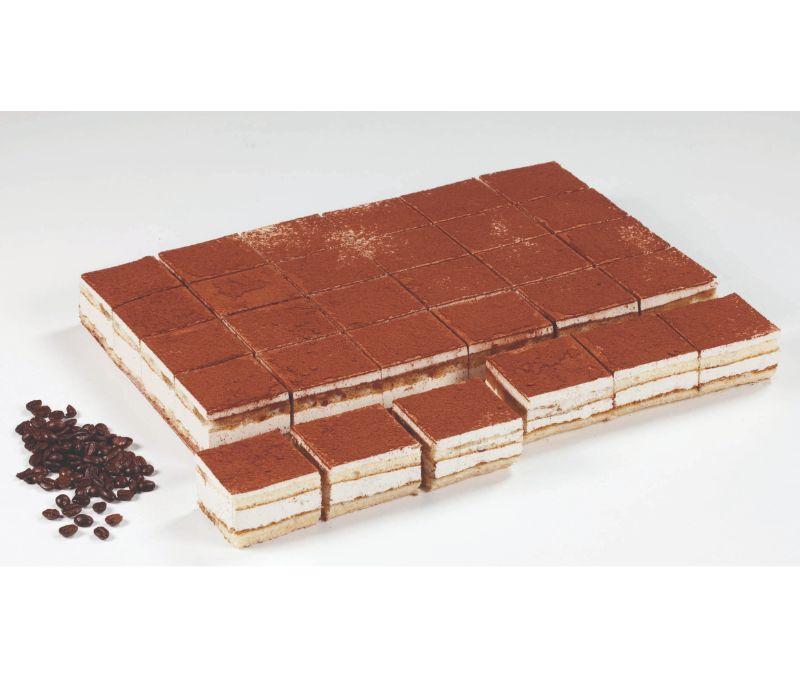 Plancha precortada de tiramisú basic (1 caja de 1,8 kg)