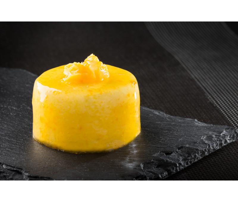 Pastel de mousse de mango y yogurt (1 caja de 1 kg)