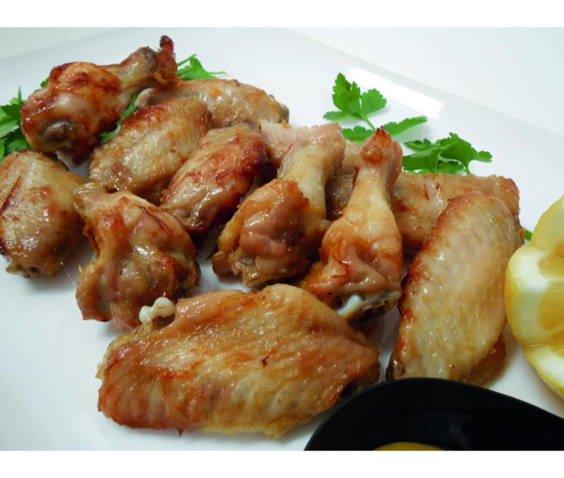 Alitas de pollo marinadas (1 caja de 5 kg)