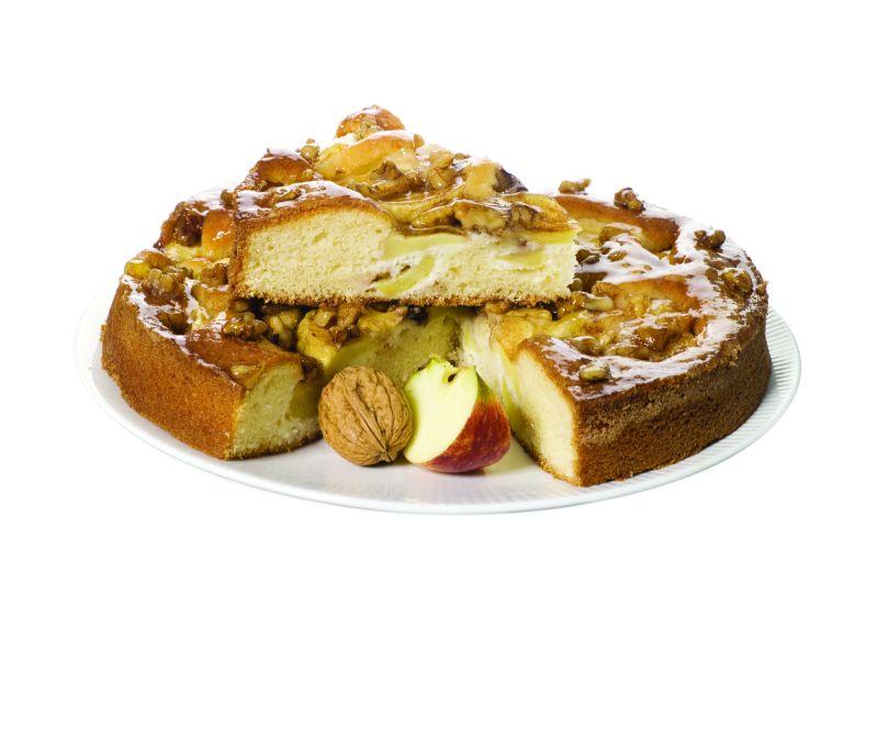 Tarta de manzana y nueces (1 caja de 2,2 kg)