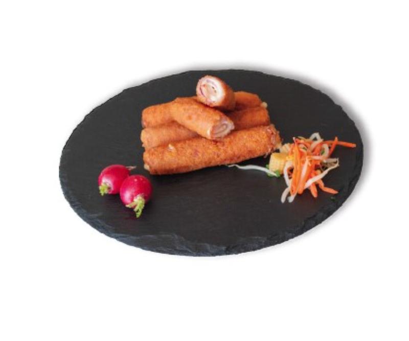 Flamenquines de pechuga de pollo (1 bandeja de 2,5 kg)