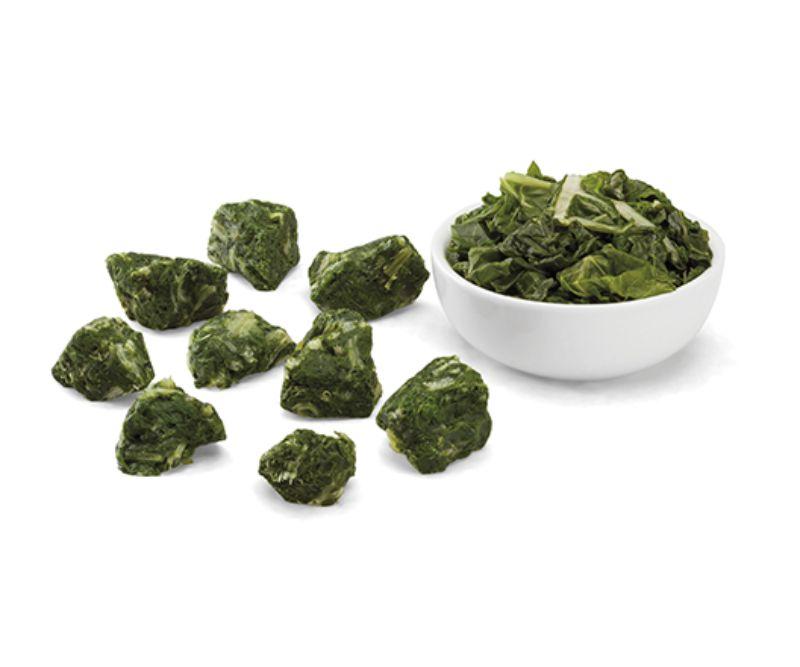 Porciones de hoja de acelga (4 bolsas de 2,5 kg)
