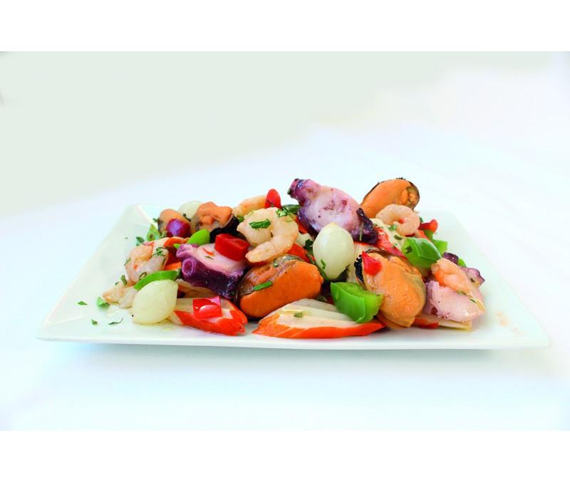Salpicón de marisco 12% (6 bandejas de 1 kg)